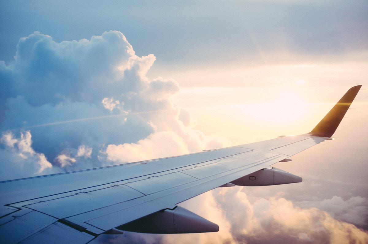 海外旅行 飛行機
