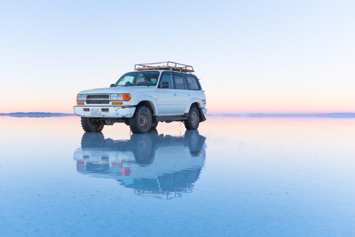 """Malaysia """"Sky Mirror"""" is Asian Uyuni salt lake"""