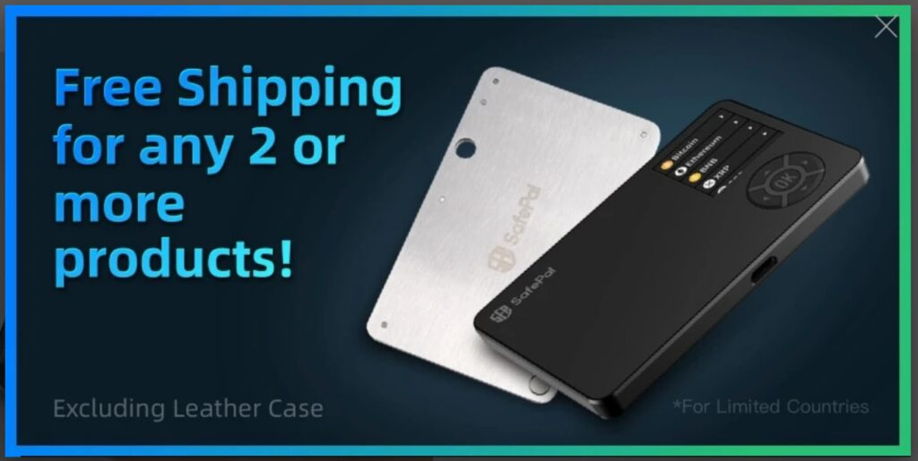 SafePal S1 Hardware Wallet のキャンペーン-送料無料